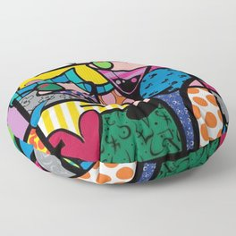pop art Floor Pillow