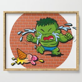 Baby Heroes - BabyHulk Serving Tray