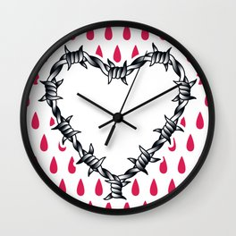 Love you (variation 06) Wall Clock