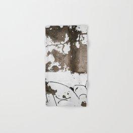 Rust White Brown Hand & Bath Towel