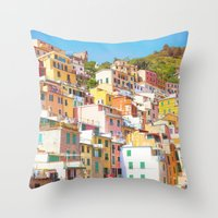 italy Throw Pillows featuring Italy by GF Fine Art Photography