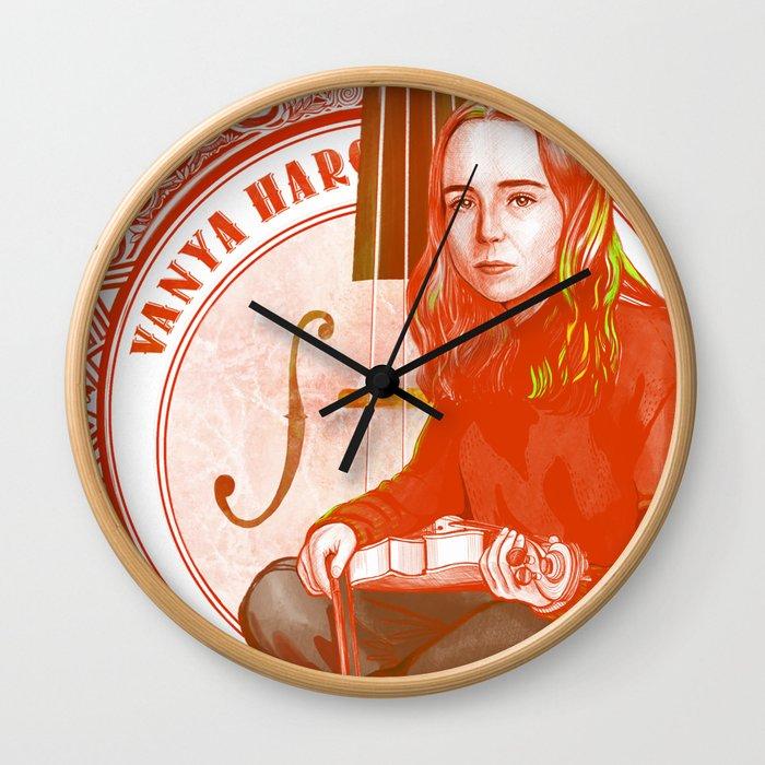 The Umbrella Academy : Number Seven Vanya Hargreeves Wall Clock