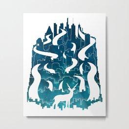 Antelope Aeon Metal Print