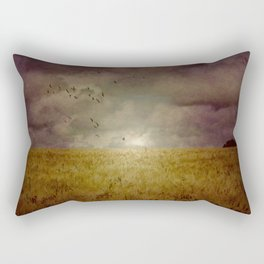 When we walked in fields of gold Rectangular Pillow