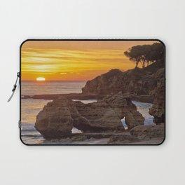 Olhos d'Agua, sunset rocks Laptop Sleeve