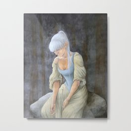 Our Time is Running Out Metal Print