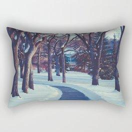A long & winding road Rectangular Pillow