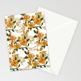 Watercolor Painting Lilium Stationery Cards