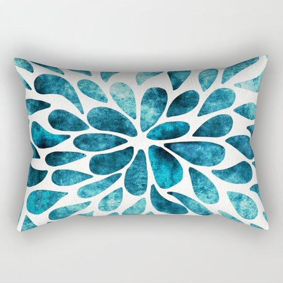 Petal Burst #2 Rectangular Pillow