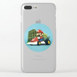Super Mario: the homecoming Clear iPhone Case