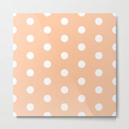 POLKA DOT ((melon)) Metal Print