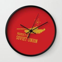 T-72 (Product of SOVIET UNION) Wall Clock