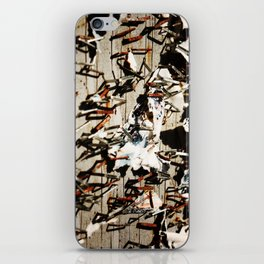 Stapled To Death iPhone Skin