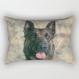 Malinois - Belgian shepherd -Mechelaar -Maligator Rectangular Pillow