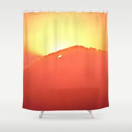 Bittersweet Morning Shower Curtain