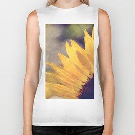 Another sunflower - Flower Flowers Summer Biker Tank