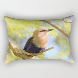 Sunshiny  Roller Bird by Reay of Light Photography Rectangular Pillow