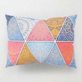 Pattern Mandala Losange Pillow Sham