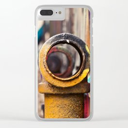 Pipe back-alley dream Clear iPhone Case