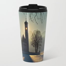 Saint Coloman Church In Germany Travel Mug