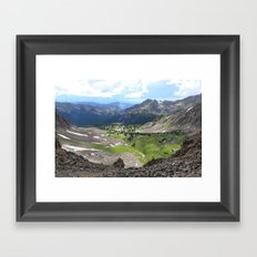 Willow Lakes Framed Art Print