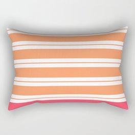 Popsicle Stripes Rectangular Pillow