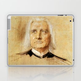 Franz Liszt (1811-1886). Painting by Franz Von Lenbach Laptop & iPad Skin