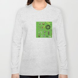 BoysToys Green (old fashion) Long Sleeve T-shirt