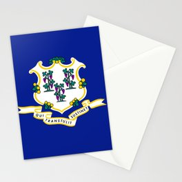 State Flag of Connecticut Stationery Cards