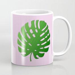 Palm Tree Leaf Art Print Coffee Mug