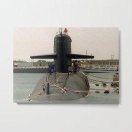 USS SIMON BOLIVAR (SSBN-641) Metal Print