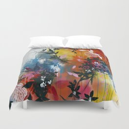 Calyces Fruits Abstract Duvet Cover