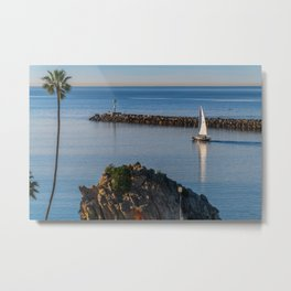 Sunrise Sail II Metal Print