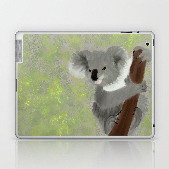 Koala Bear Hanging In There Laptop & iPad Skin