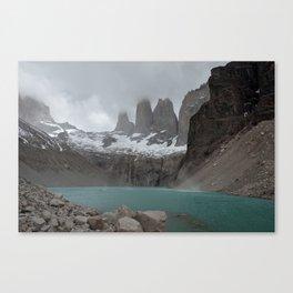 BASE DE LAS TORRES Canvas Print