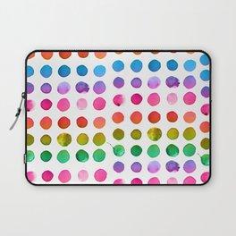 Rainbow Watercolor Laptop Sleeve