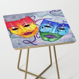 Comedy and Tragedy Side Table