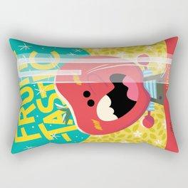 Happy Snappy Apple Rectangular Pillow
