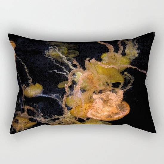 Sea Nettles Rectangular Pillow