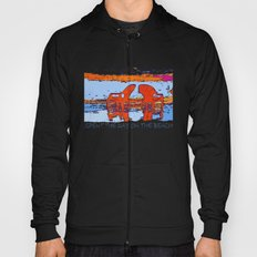 A day on the beach Hoody