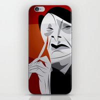 hannibal iPhone & iPod Skins featuring Hannibal by nachodraws