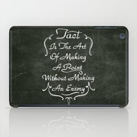 lettering iPad Cases featuring Lettering 001 by Noem9 Studio