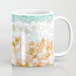 On the beach abstract painting Coffee Mug