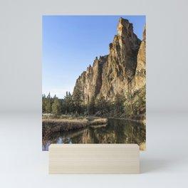 Cliffs Above Crooked River Mini Art Print