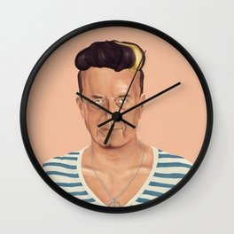 The Israeli Hipster leaders -  Yitzhak Rabin Wall Clock