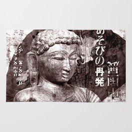 Buddha mit Fächer Rug