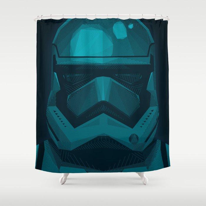 Stormtrooper Shower Curtain By Andreszen
