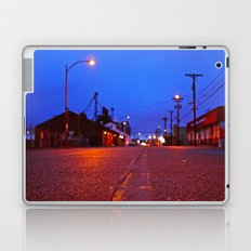 Empty urban evening Laptop & iPad Skin