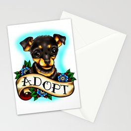 Adopt a Dog Stationery Cards