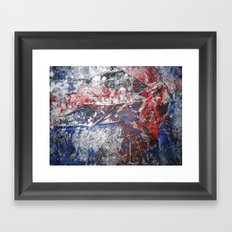 SupermanAbstract Framed Art Print